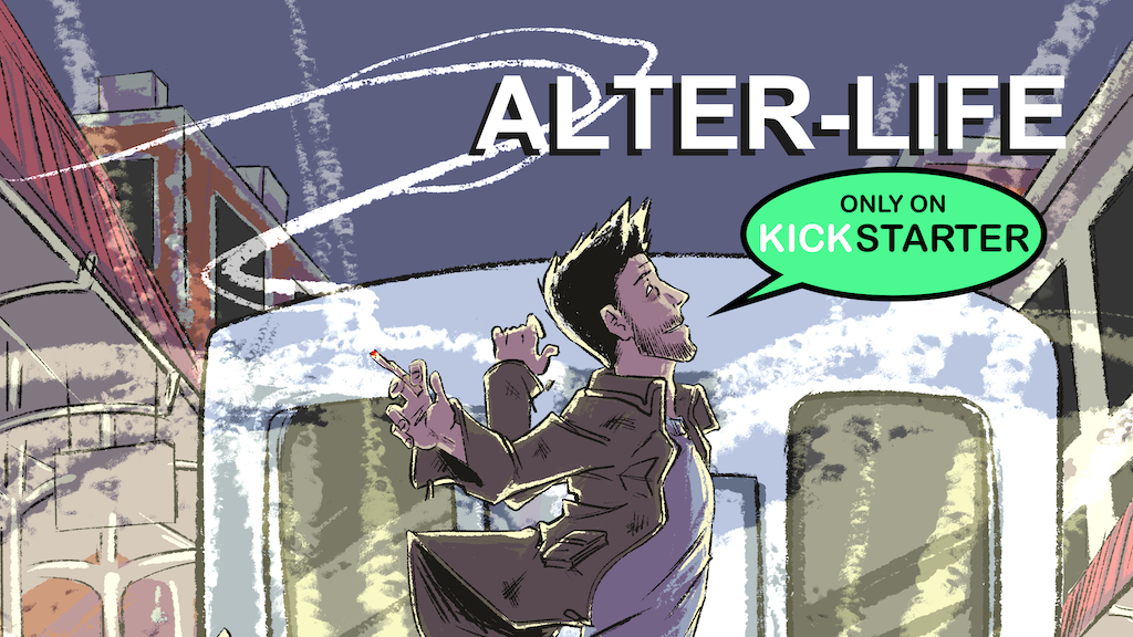 ALTER-LIFE Comic Book Series Issue #1 project video thumbnail