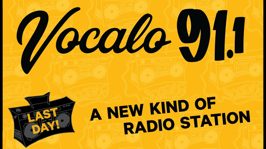 Vocalo: A new kind of Radio Station for Chicago project video thumbnail