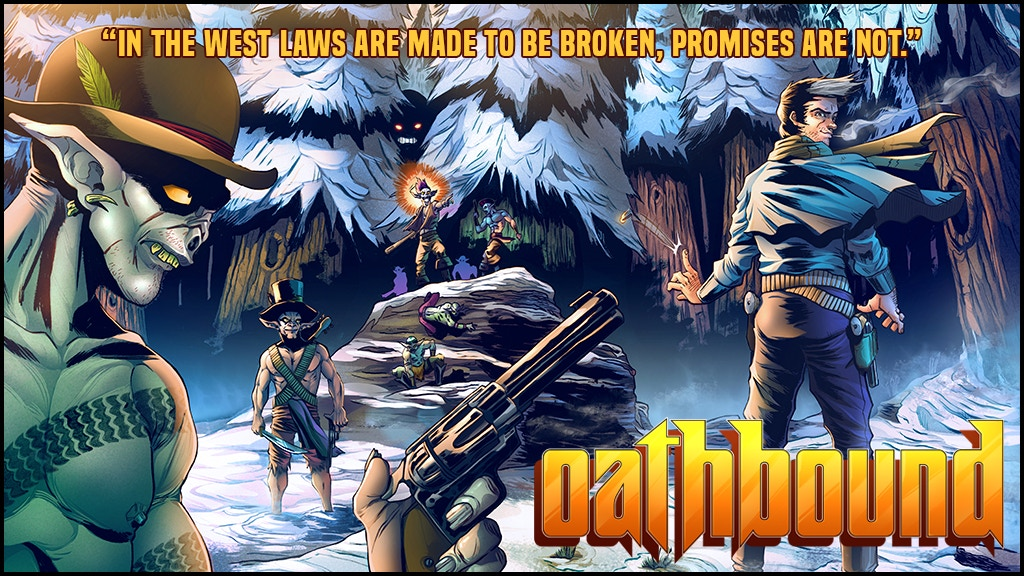 Oathbound: The Fantasy Spaghetti Western Comic Book Series project video thumbnail