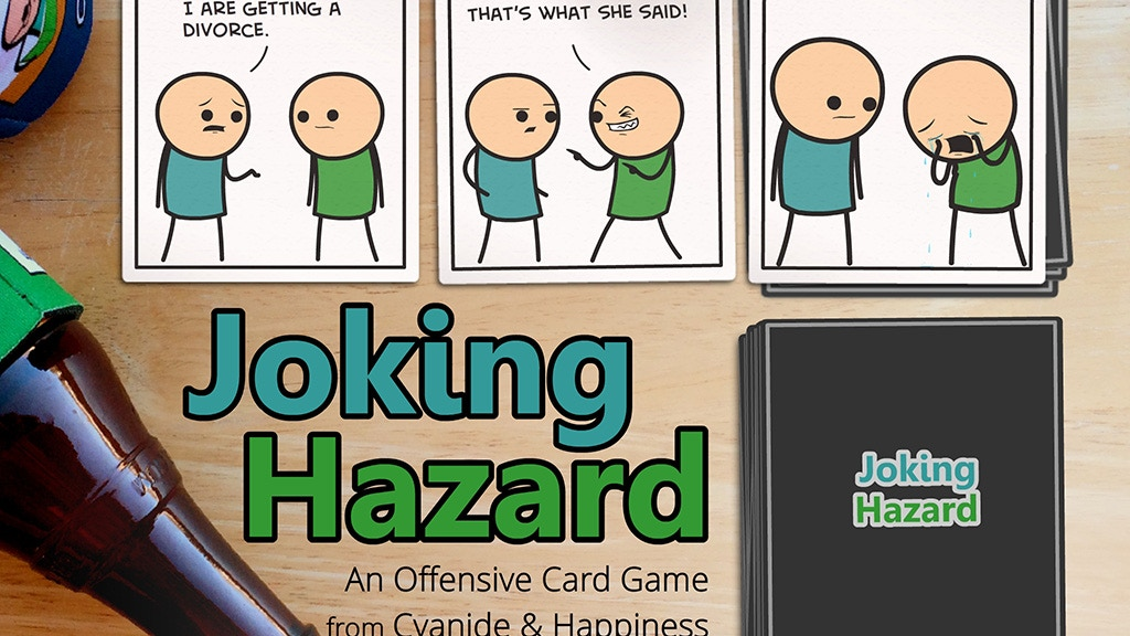 Joking Hazard project video thumbnail
