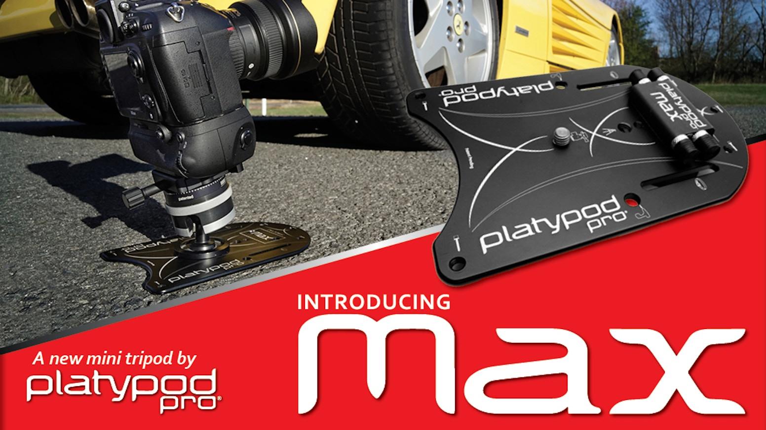 platypod pro max by larry tiefenbrunn kickstarter. Black Bedroom Furniture Sets. Home Design Ideas