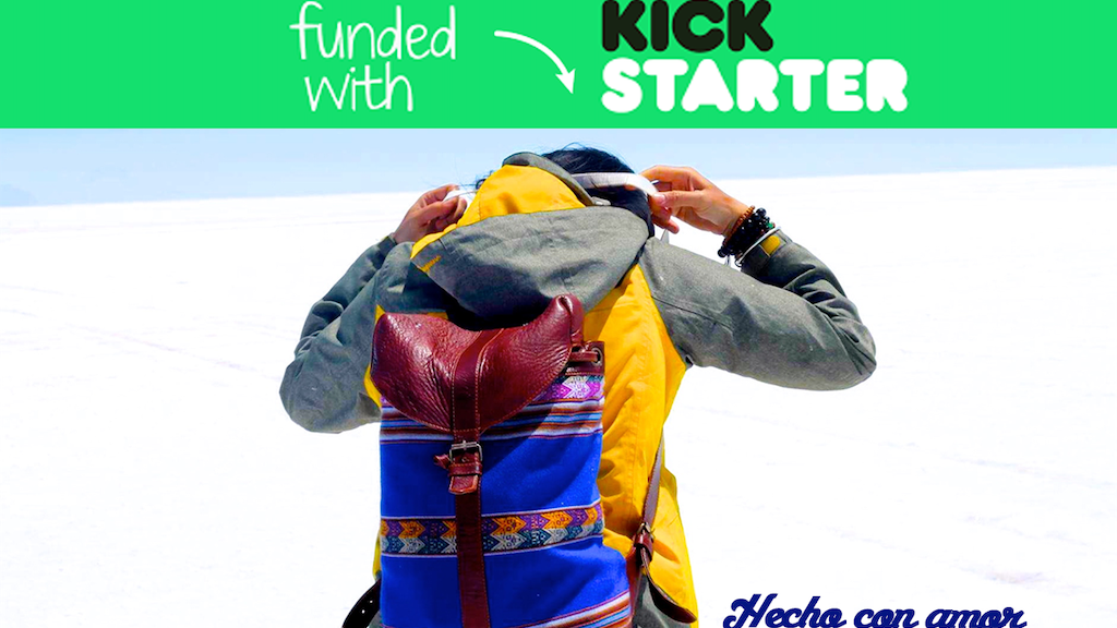 MACHITOS ► Colorful Handmade Backpacks From Peru project video thumbnail