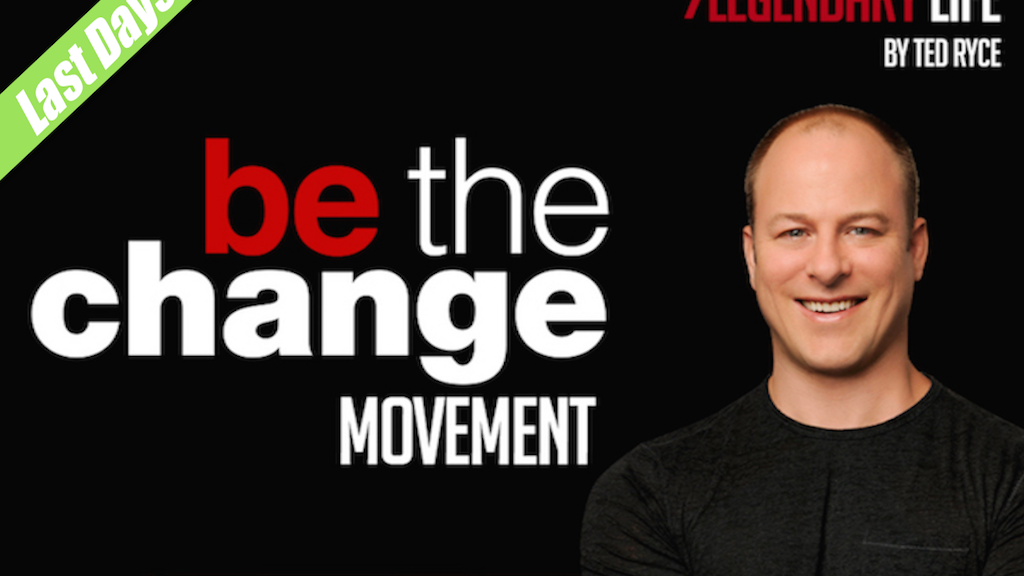Be The Change Movement: Create The Life You Want in 2016! project video thumbnail