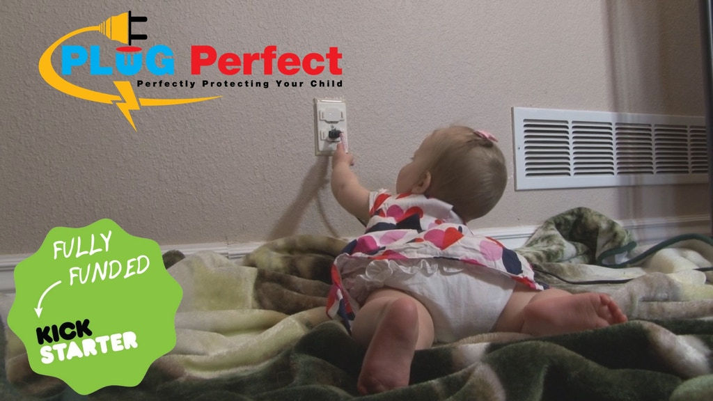 Plug Perfect - Baby proof your electrical outlets, perfectly project video thumbnail
