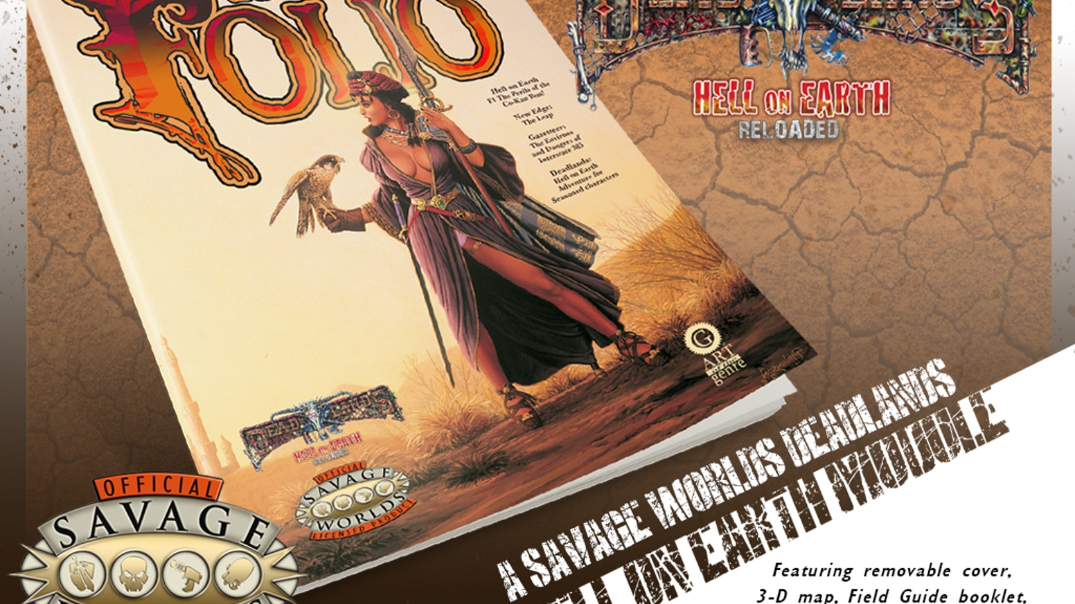 The folio 7 deadlands edition by scott taylor kickstarter for Bureau 13 savage worlds