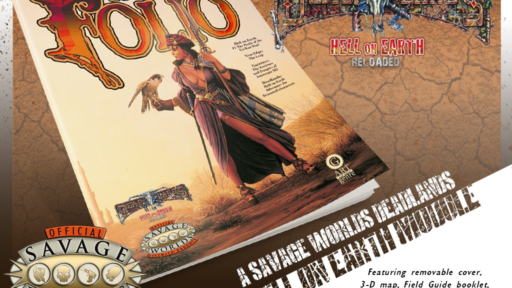 The Folio #7 Deadlands Edition project video thumbnail