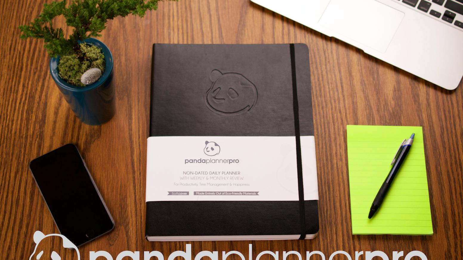panda planner pro happiness productivity success by michael