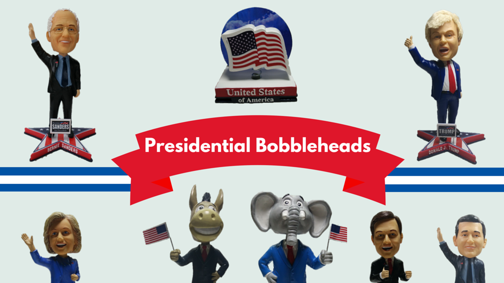 Presidential Candidate Bobbleheads: Bernie, Trump & More! project video thumbnail
