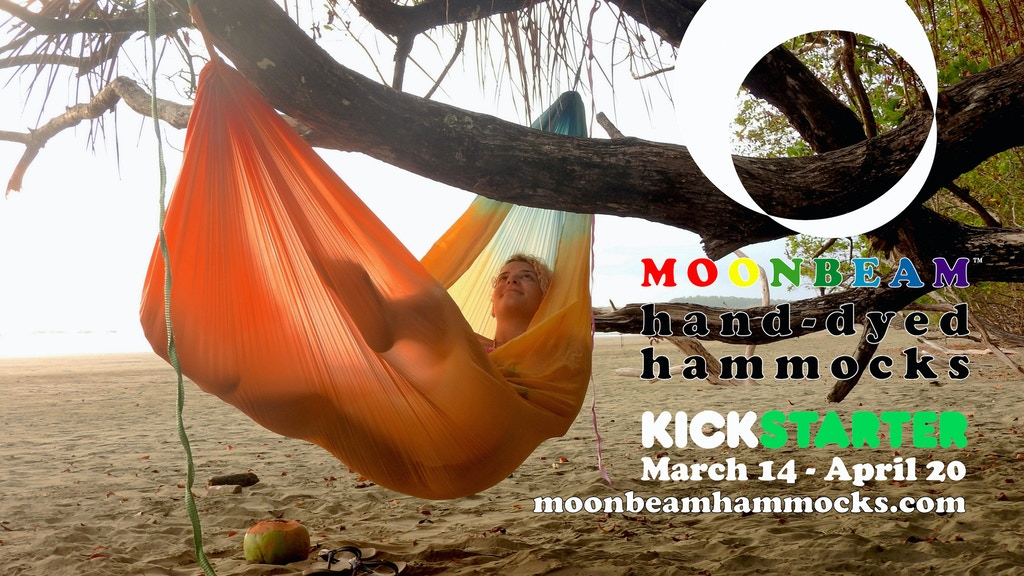 The Moonbeam Hand-Dyed Adventure Hammock - In 17 Colors! project video thumbnail