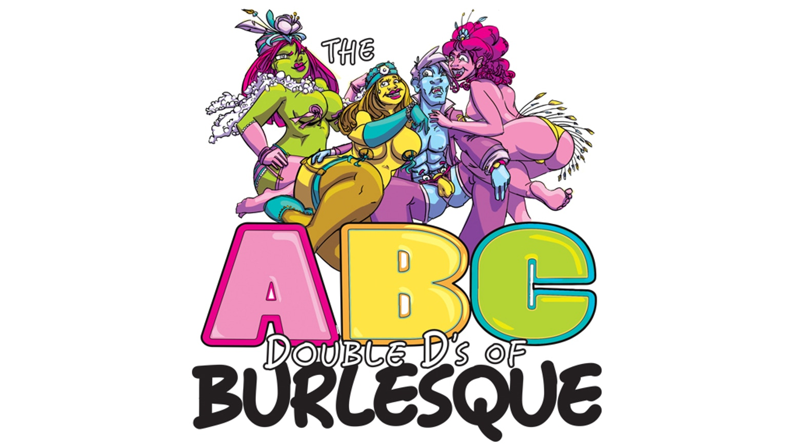 An illustrated ABC encyclopedia about the art of striptease! A light and bright summary on everything burlesque.