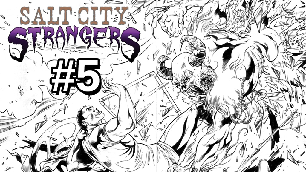 Salt City Strangers #5 Utah's Most Awesomest Heroes project video thumbnail