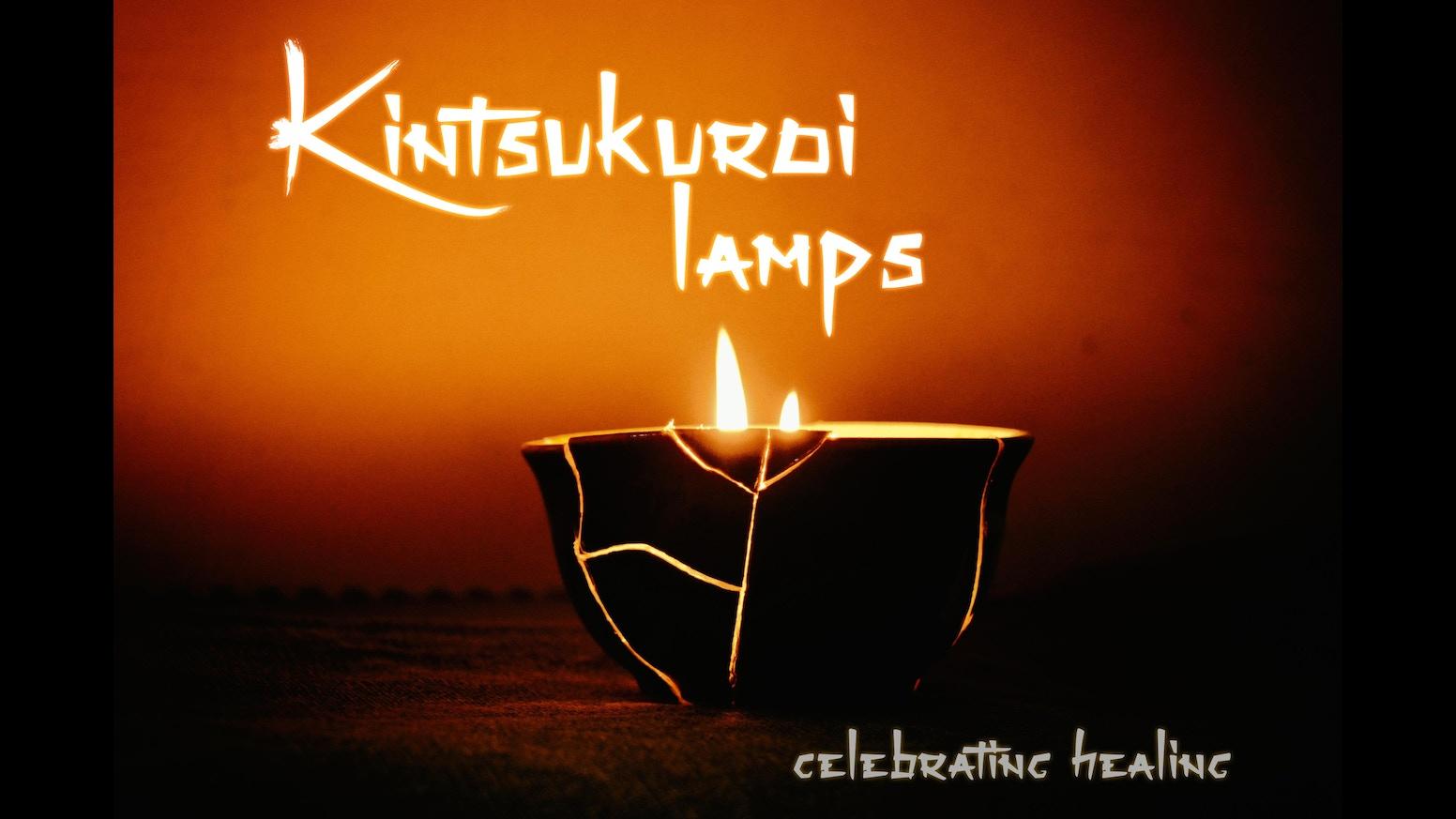 Kintsukuroi Lamps Celebrating Healing By Kintsugi Lamps