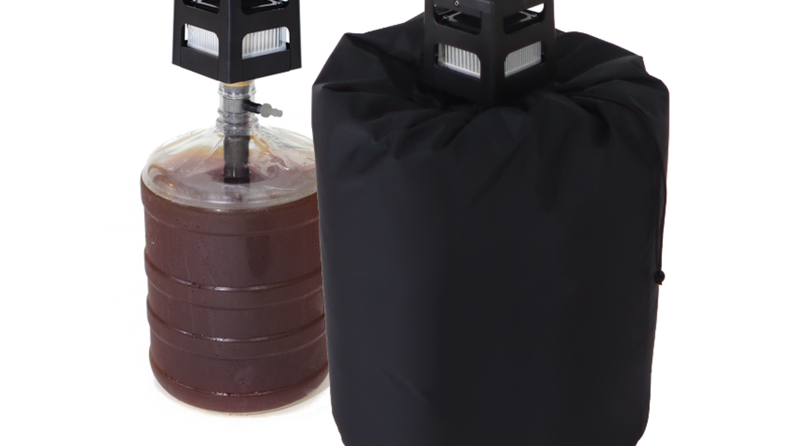 Creates perfect craft and homebrew beer fermentations by seamlessly warming or cooling the beer to 35º F + / - ambient, holds to 0.5ºF.