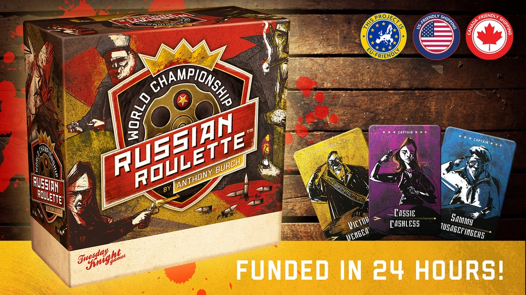 World Championship Russian Roulette by Anthony Burch miniatura de video del proyecto