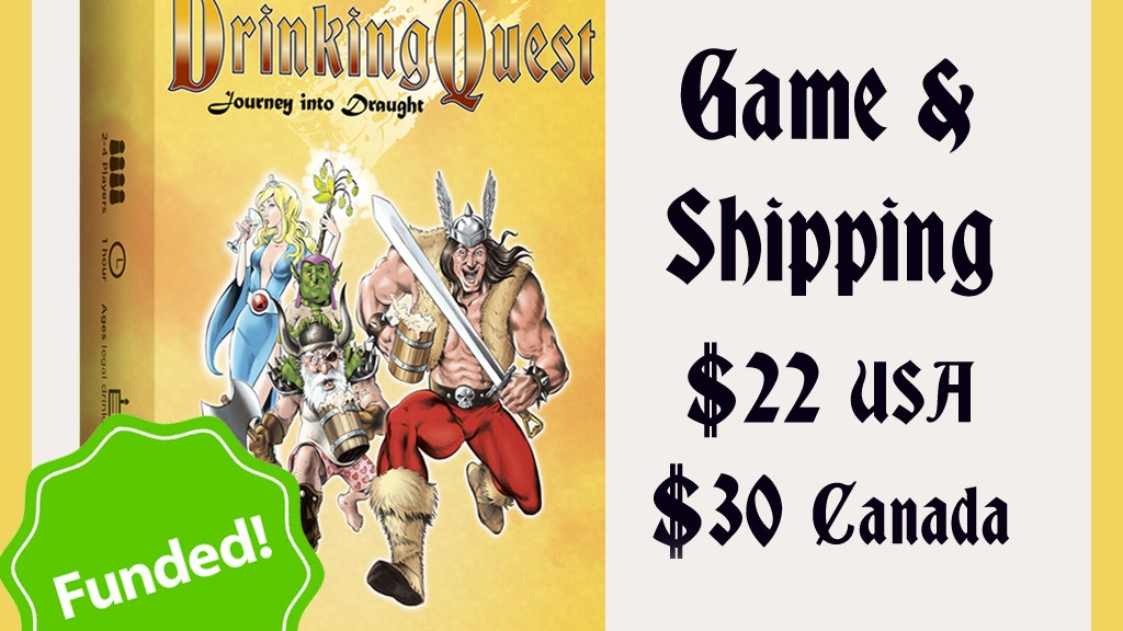 Drinking Quest: Journey into Draught project video thumbnail
