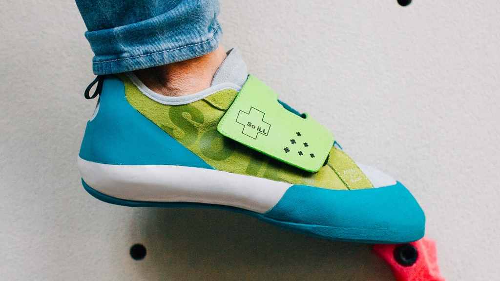 High Performance Climbing Shoes Inspired by Retro Footwear project video thumbnail