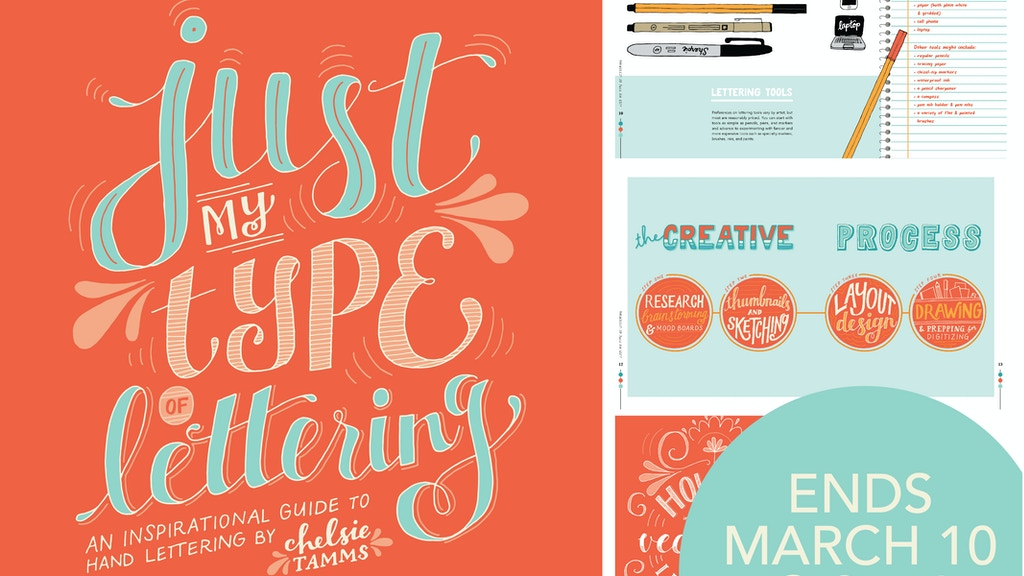 Just My Type of Lettering: A How-To Book on Hand Lettering project video thumbnail