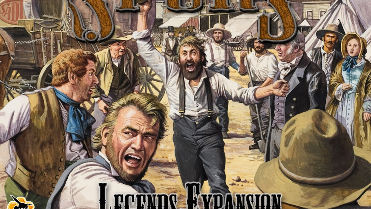 The Spurs Legends Expansion is a series of new adventure tiles and mini games for Spurs: A Tale in the Old West.