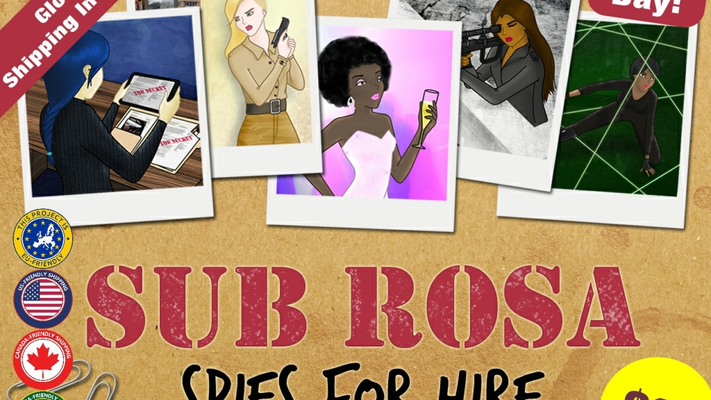 Sub Rosa: Spies for Hire project video thumbnail