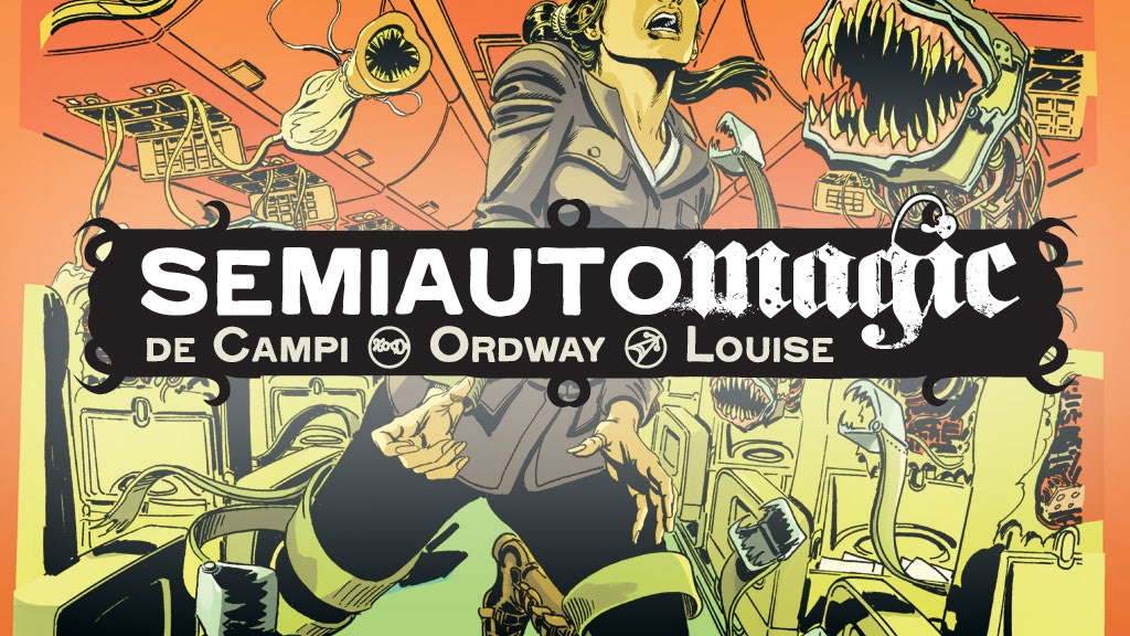 Semiautomagic: Horror by Alex de Campi / Jerry Ordway project video thumbnail