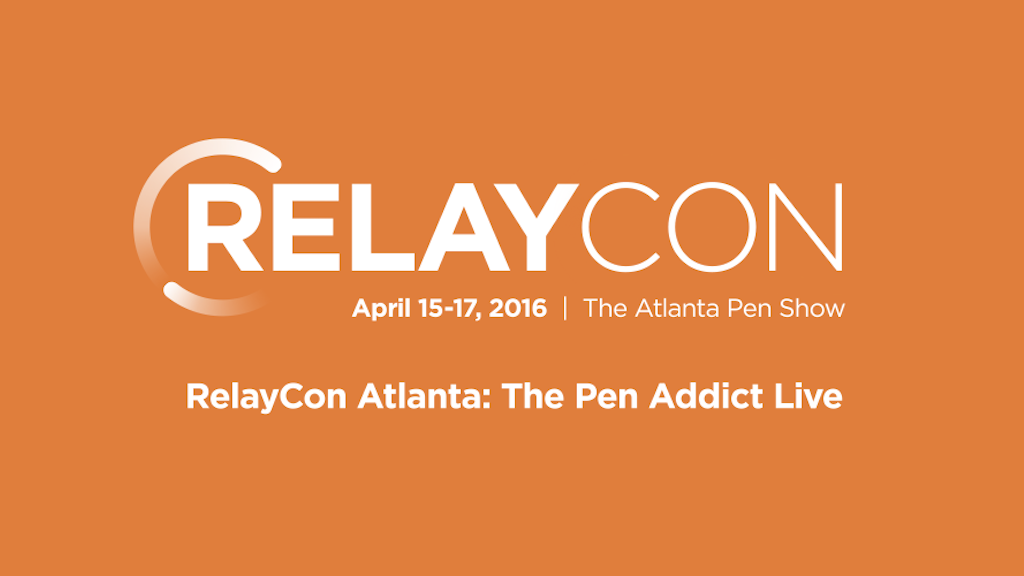 RelayCon Atlanta: The Pen Addict Live 2016 project video thumbnail