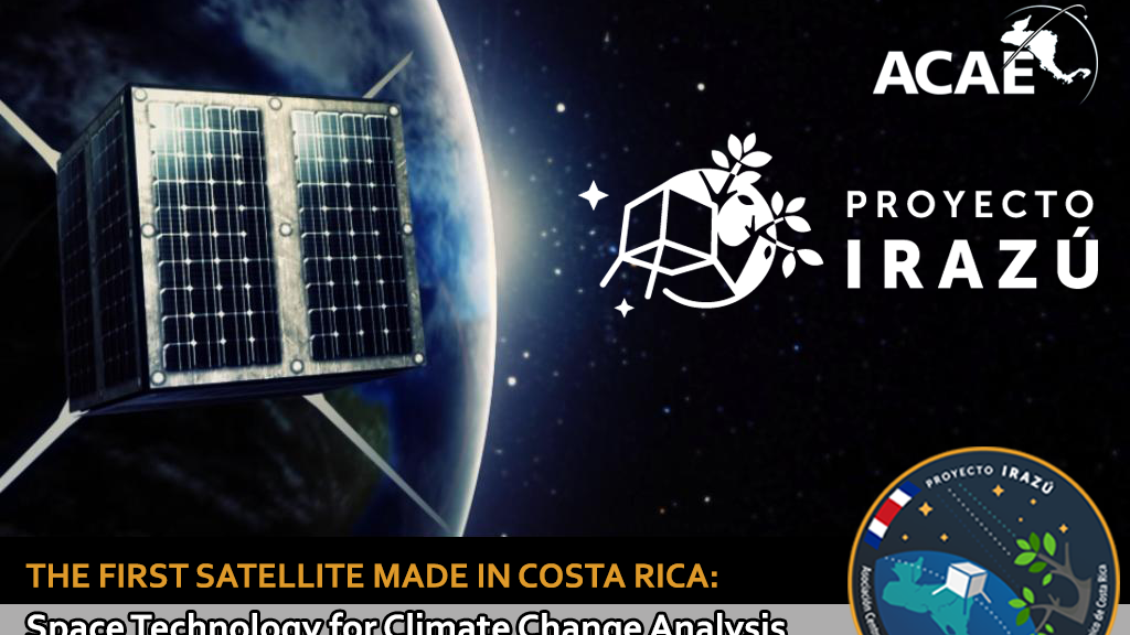 Irazú Project: The First Satellite Made in Costa Rica project video thumbnail