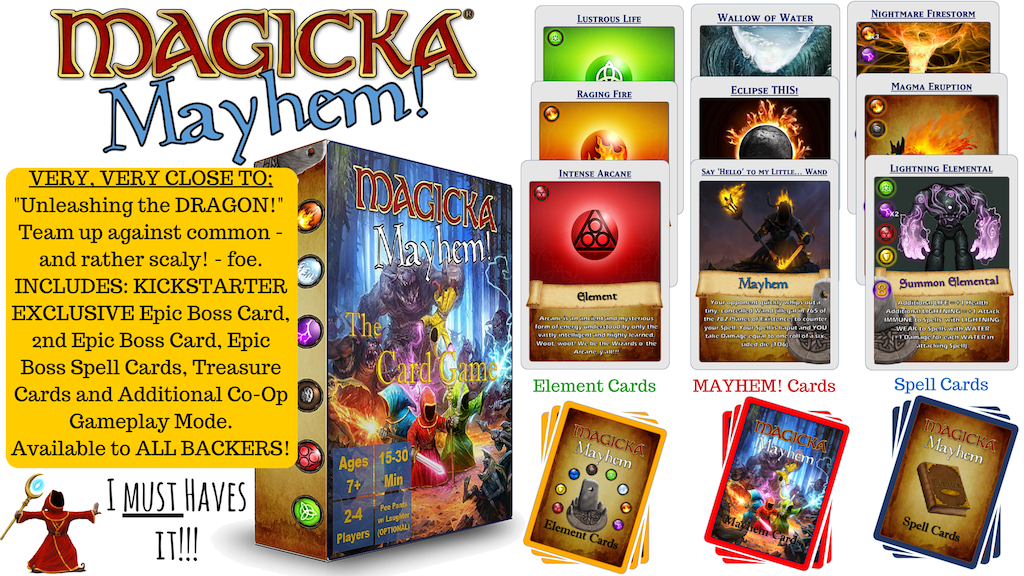 Magicka Mayhem: The Card Game of Elements, Spells & MAYHEM! project video thumbnail