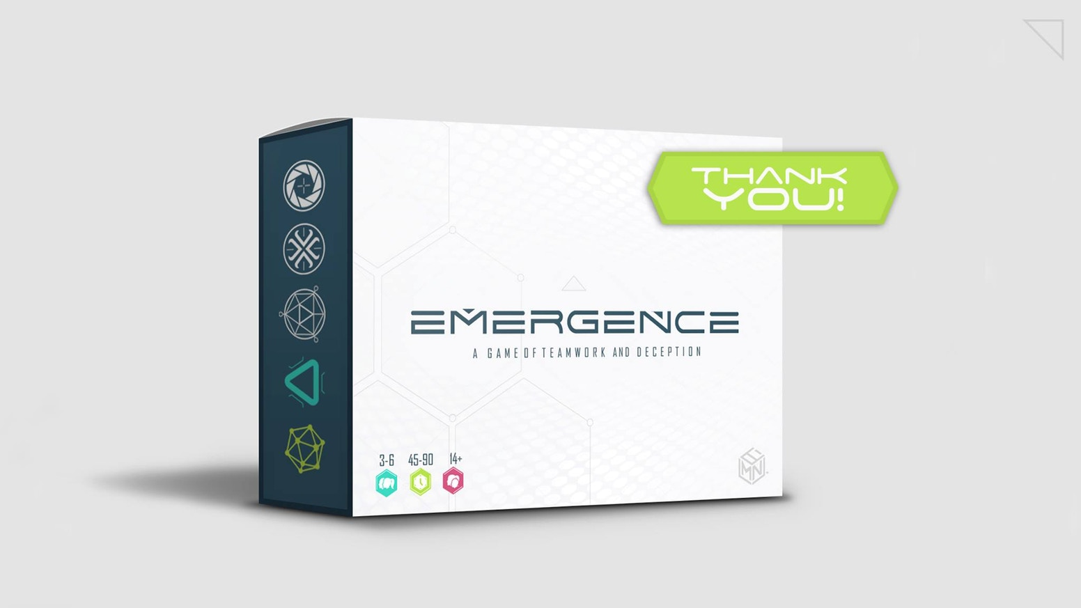 Assimilate data and gain knowledge for the greater good, or use it for your own agenda in this futuristic board game for 3-6 players.