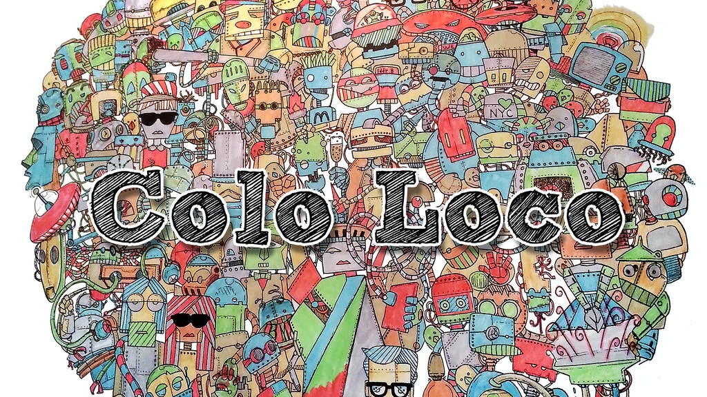Colo Loco - The geeky coloring adventure! project video thumbnail