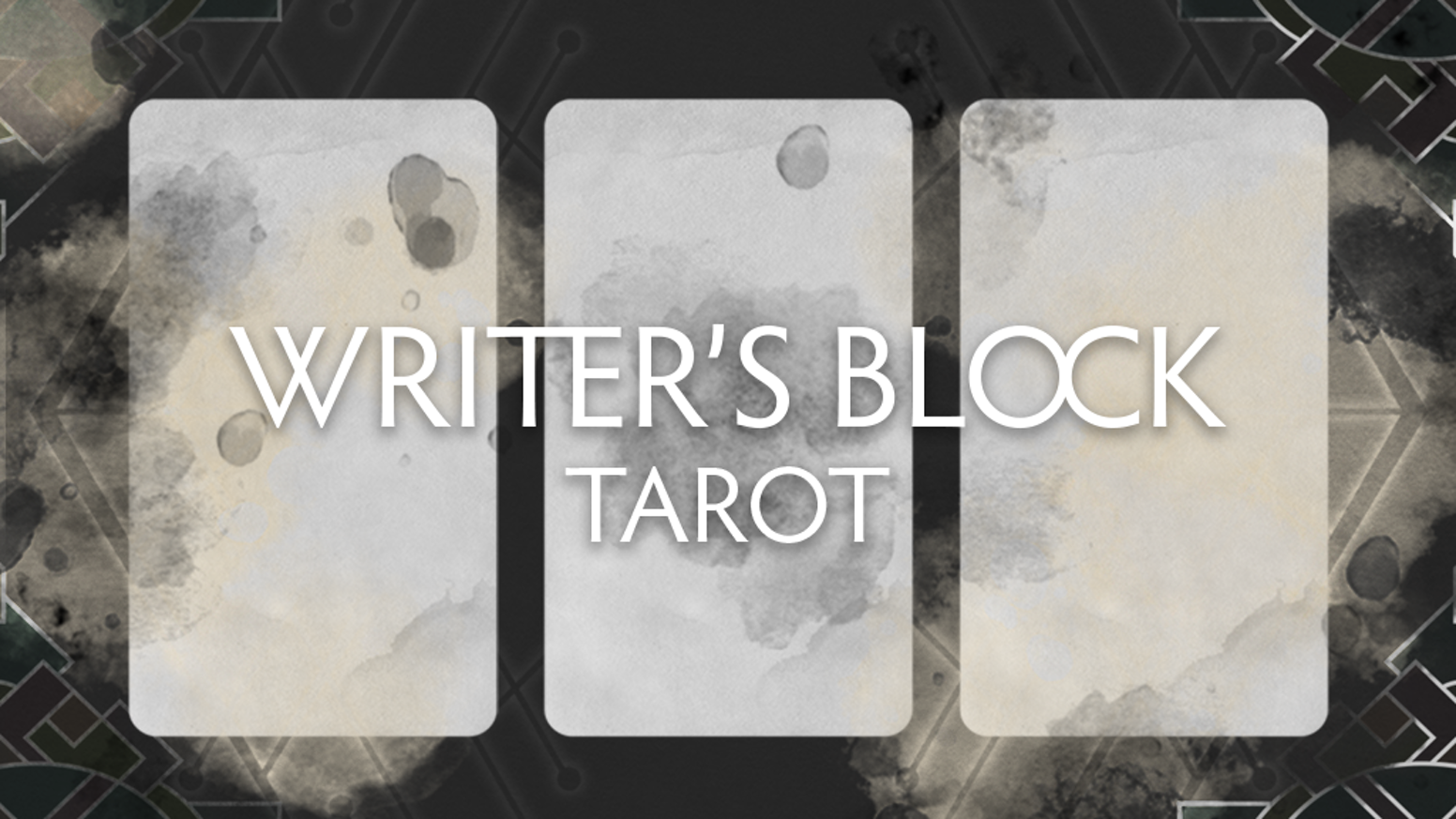 Tarot tells a story. Use this deck to break your writers block. Create stronger plots, more complex characters, and dynamic conflicts.