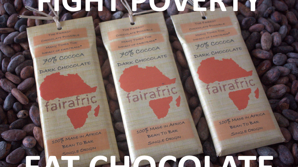 Fairest Chocolate - Made in Africa - Maximum Impact project video thumbnail