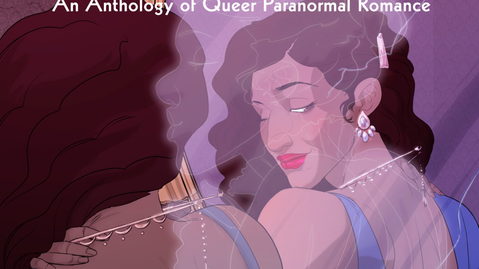 A gorgeous, 200 page queer paranormal romance comic anthology edited by Melanie Gillman and Kori Michele Handwerker.