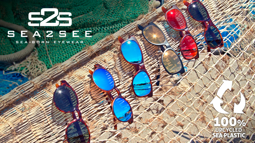 Sea2See Eyewear - Made from 100% recycled sea plastic. project video thumbnail