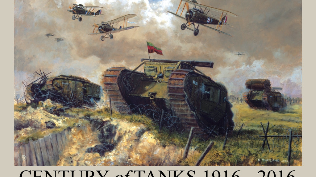 Century of Tanks 1916 - 2016 by David Pentland project video thumbnail