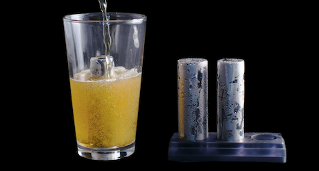 The beer bit engineered to perfectly chill craft beer by for Take craft beer back