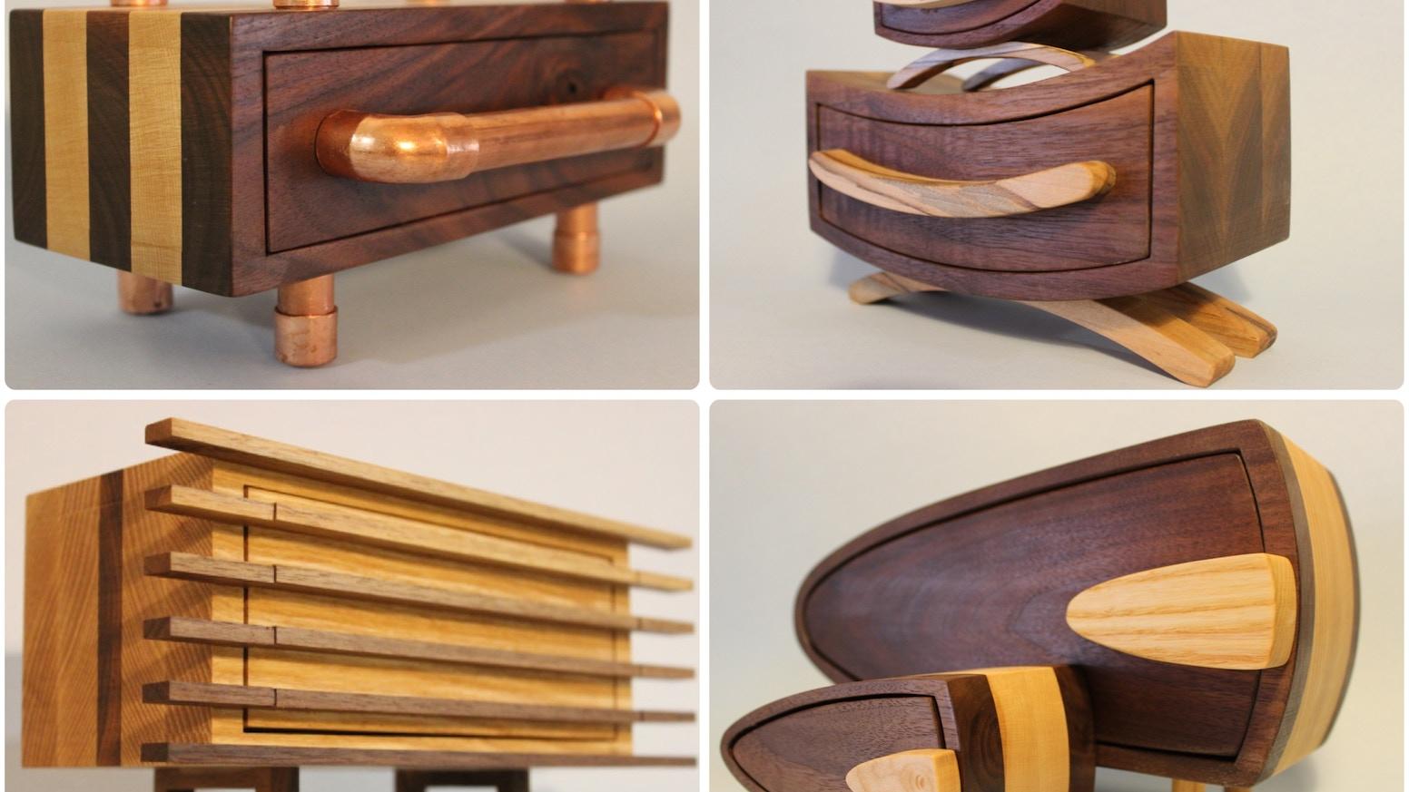 Parillaworks Wooden Bo Ii