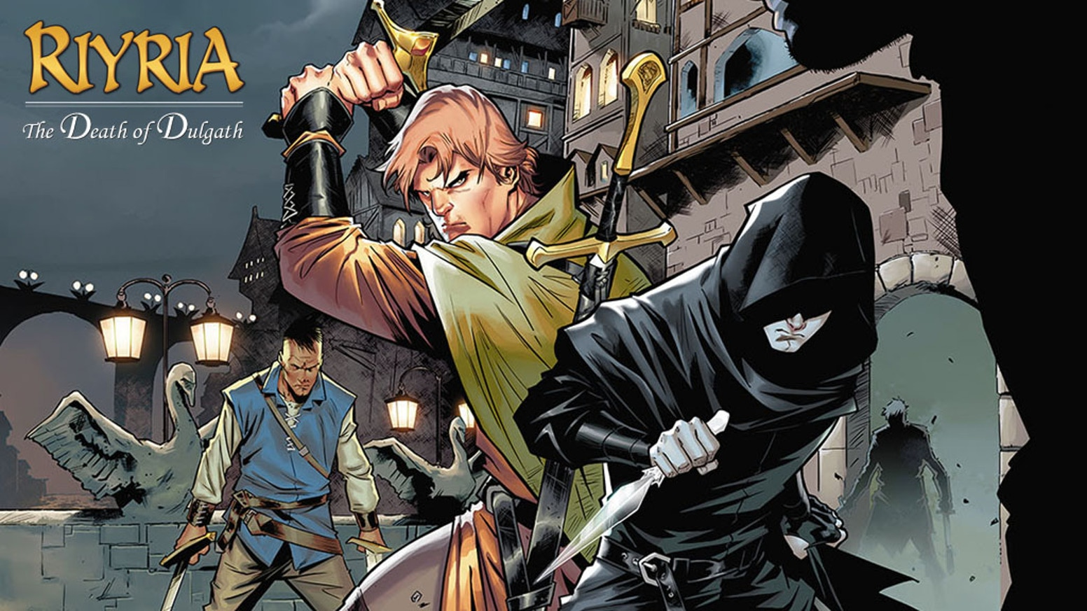 Riyria Graphic Novel: Epic Fantasy (The Death of Dulgath) by Dabel
