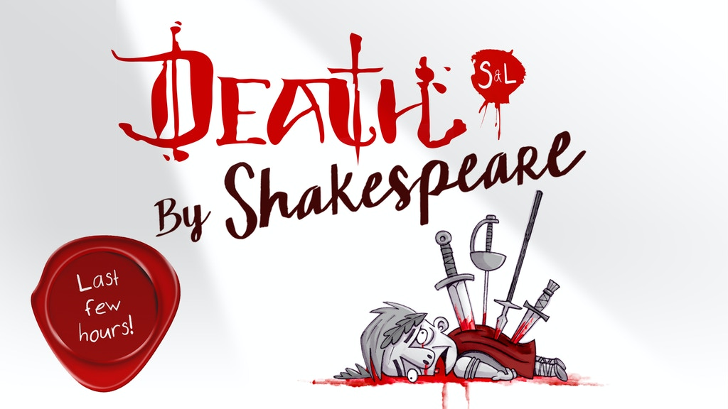 DEATH By Shakespeare project video thumbnail