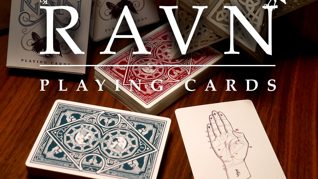 Ravn Playing Cards project video thumbnail