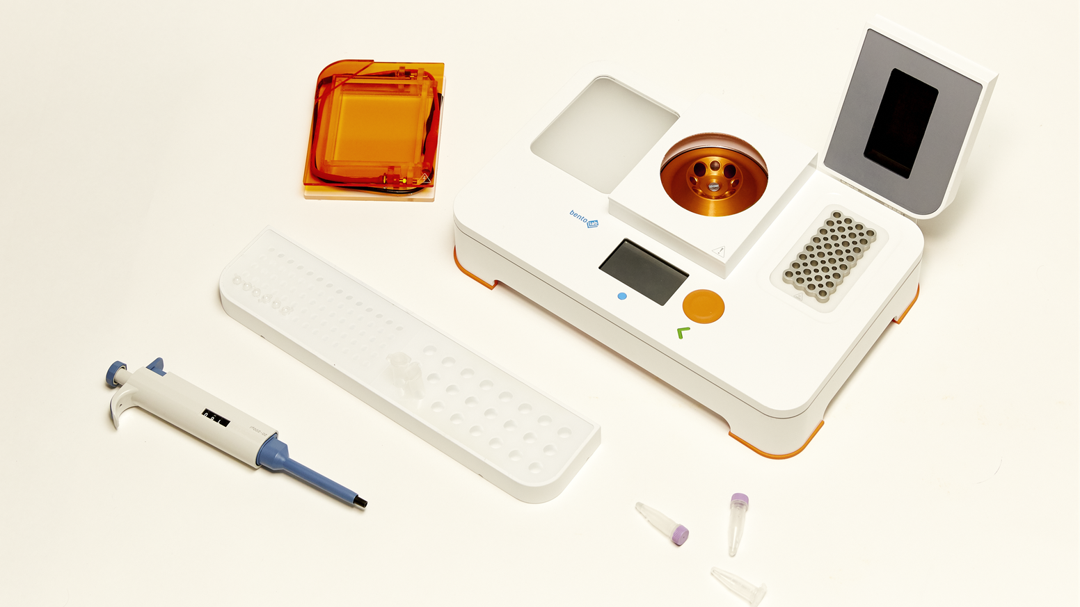 Bento Lab is a DNA lab that you can take anywhere. Get hands-on with genetics straight away.