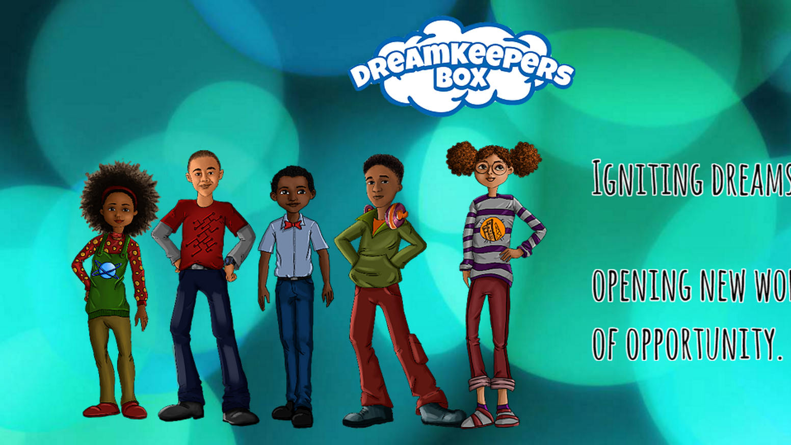 A monthly subscription box that allows children to explore careers and learn about African American leaders in various industries