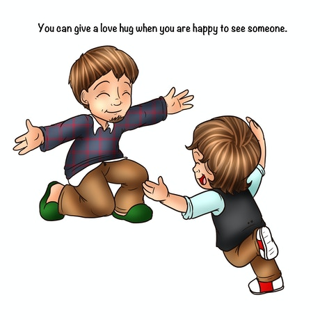 Love Hugs\' - World\'s Youngest Author\'s 1st Book by Domino Effect ...