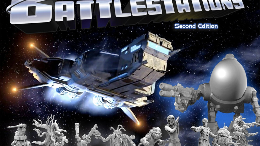 Battlestations: Second Edition! Tabletop Starship Simulator project video thumbnail