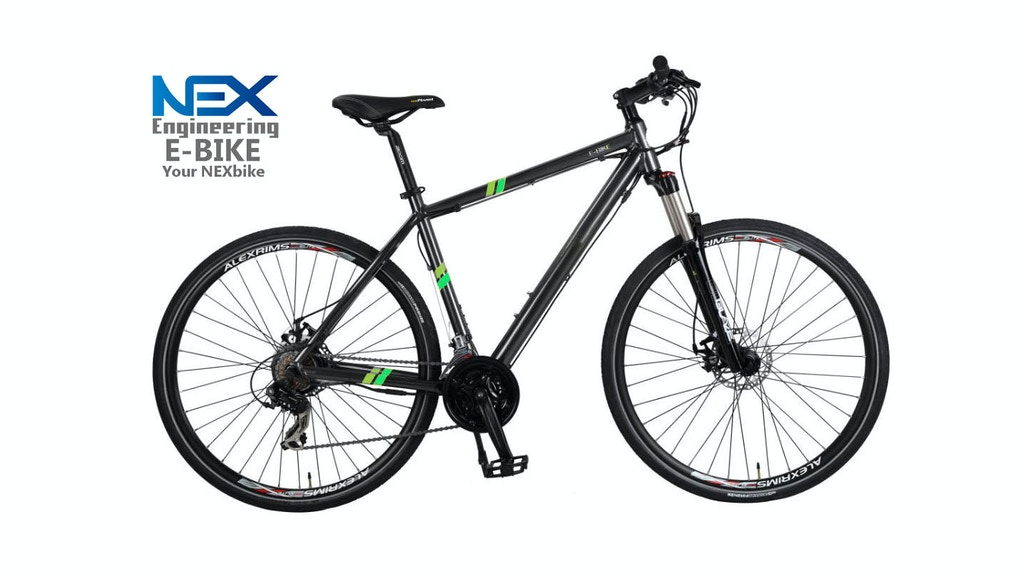 Project image for This is the simplest Electric bike, your Nexbike (Canceled)
