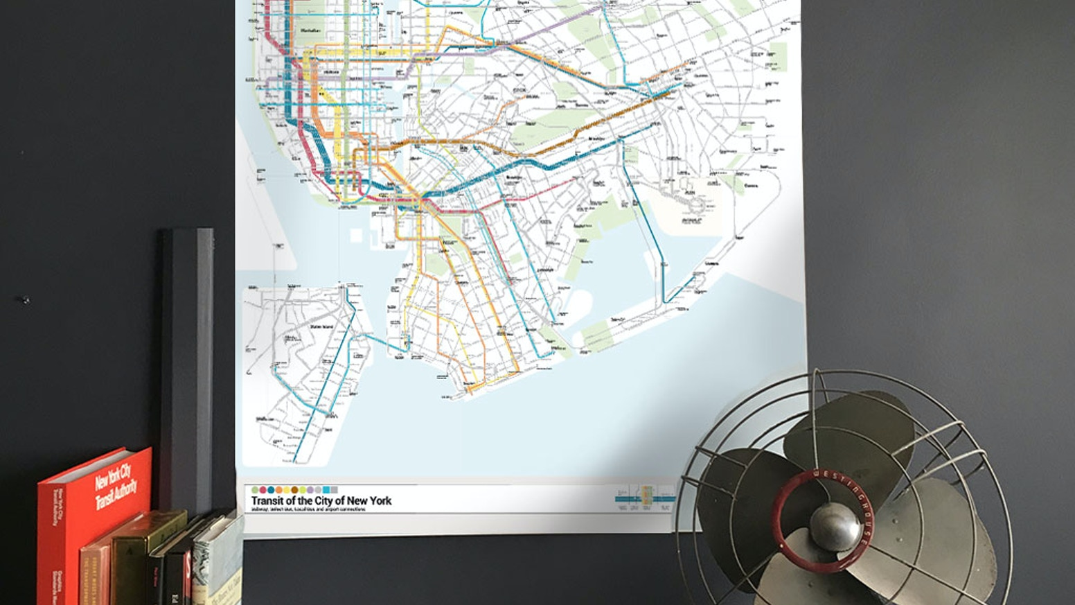 Basic Nyc Subway Map App.Nyc Bullet Map One Map One City By Anthony Denaro Kickstarter