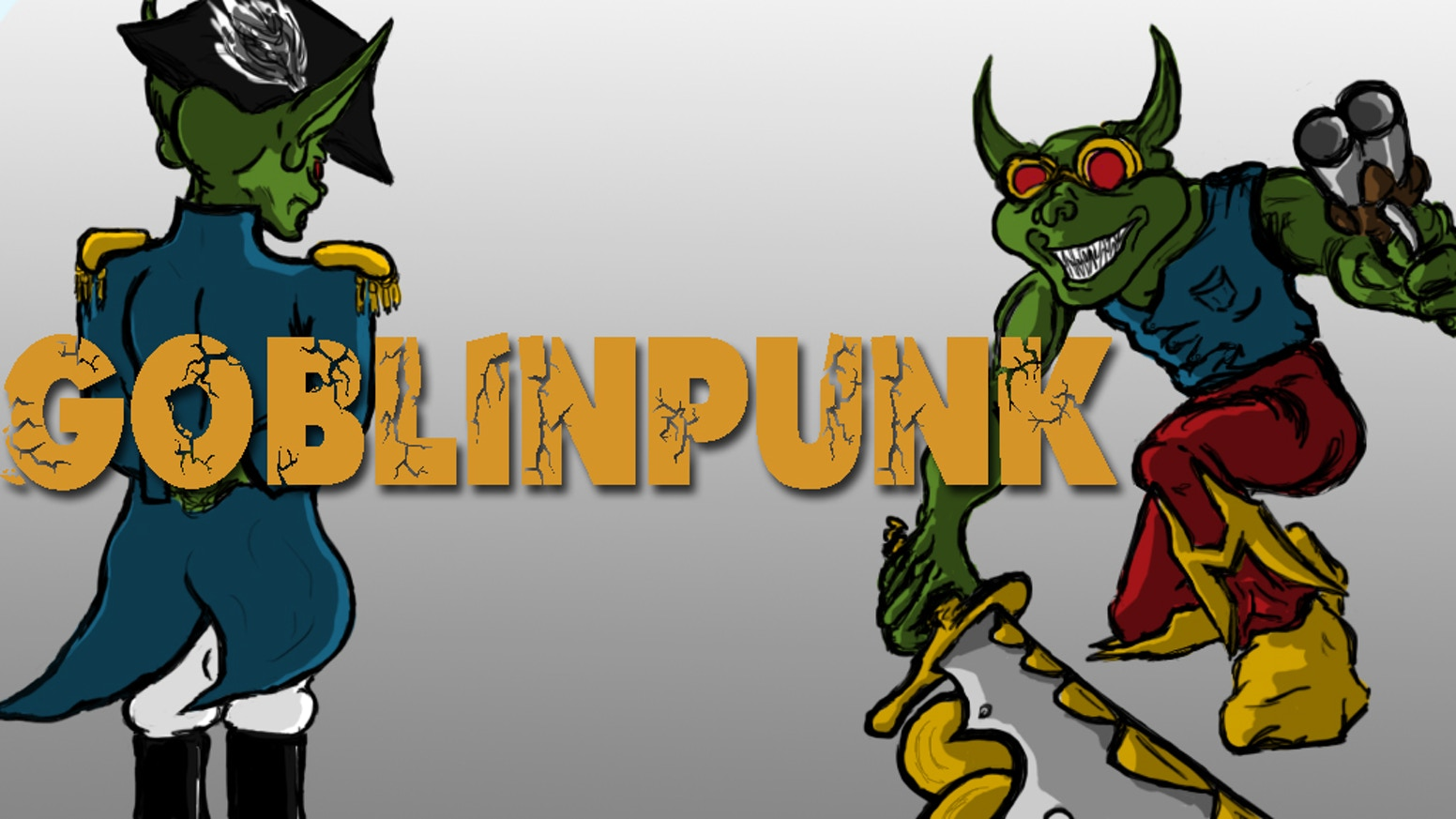 Across the countryside, Goblins have been raiding and pillaging with blimps and clockwork weapons. Its up to your heroes to stop them!