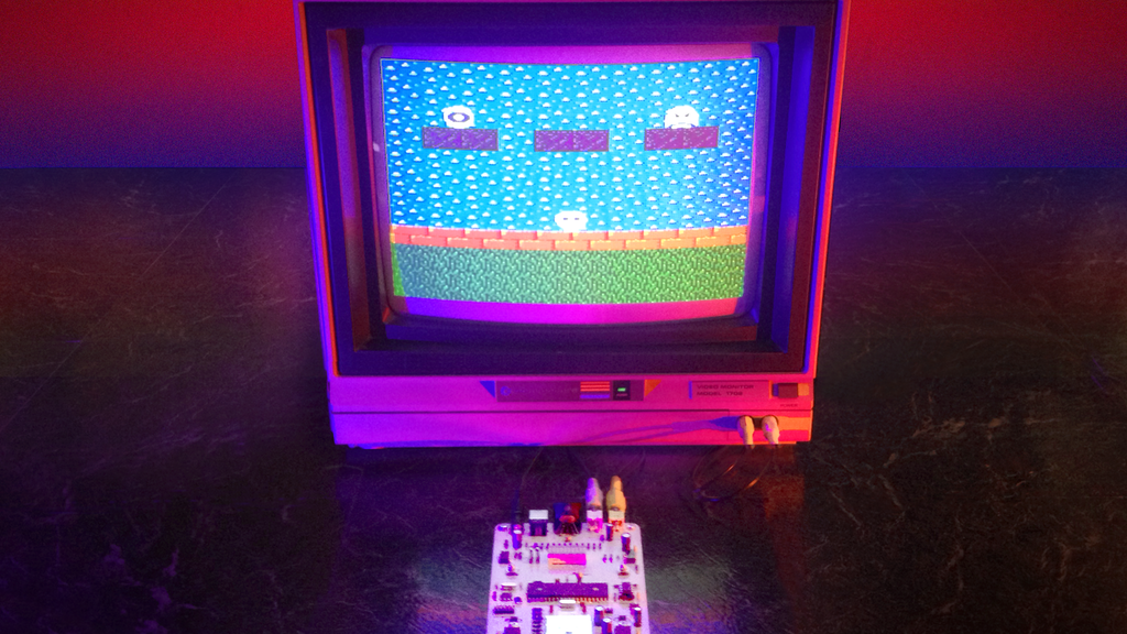 Ming Micro: Portable 8-bit Video Synthesizer project video thumbnail