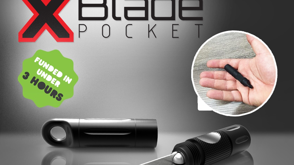 X-Blade Pocket project video thumbnail