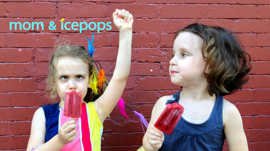 mom & icepops: fresh-fruit, natural, gourmet deliciousness! project video thumbnail