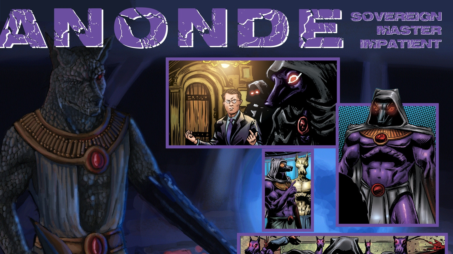 The graphic novel Electromagnate, funded on Kickstarter, is done. Celebrate by grabbing the book and the latest character card, Anonde.